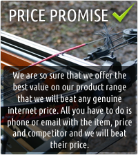 Price promise we will beat any genuine crossbow price